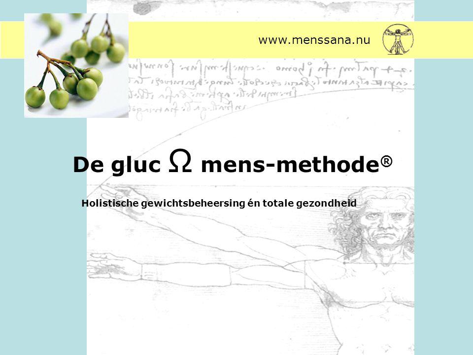 De gluc Ω mens-methode®