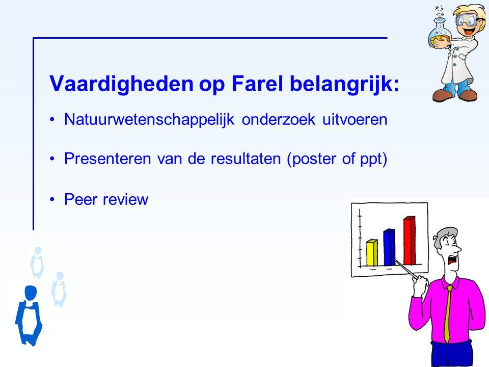 Vaardigheden op Farel belangrijk: