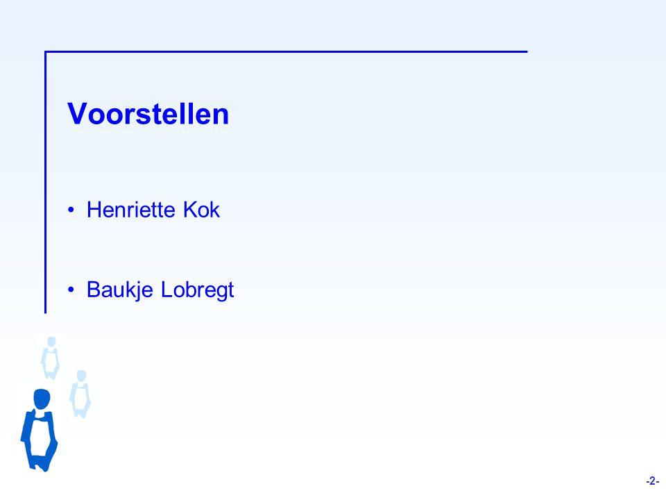 Voorstellen Henriette Kok Baukje Lobregt -2- 2