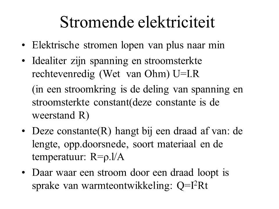 Stromende elektriciteit