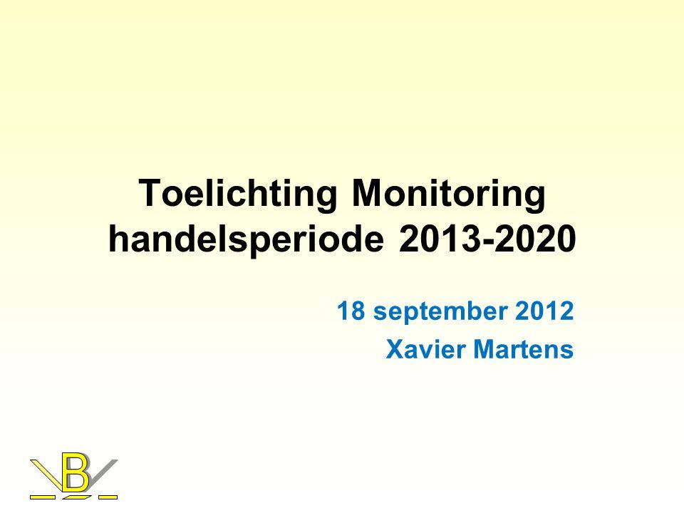 Toelichting Monitoring handelsperiode 2013-2020