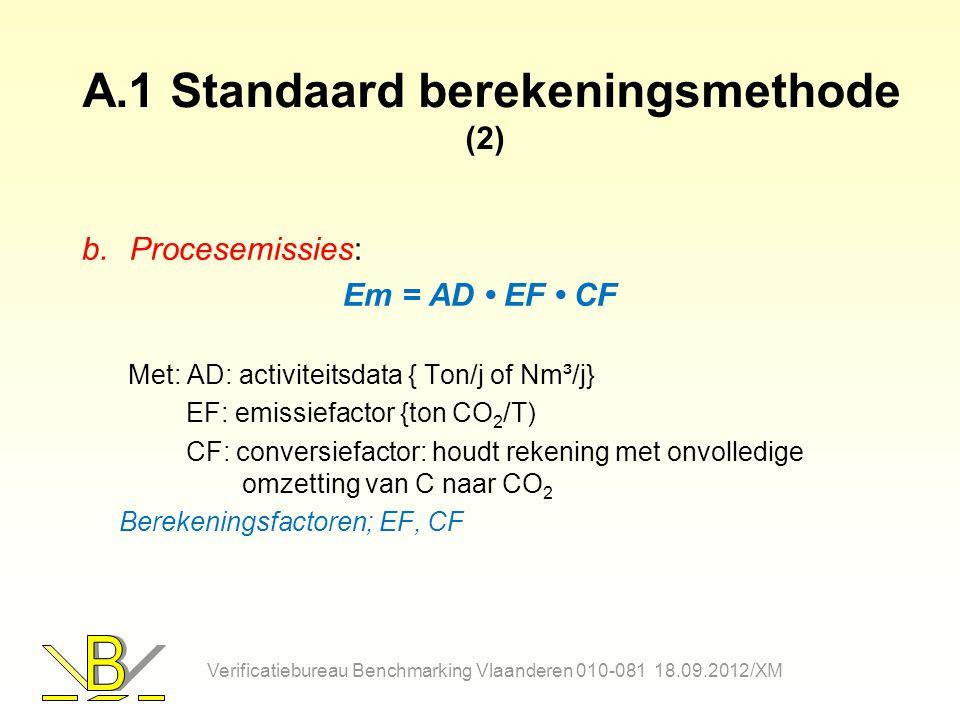 A.1 Standaard berekeningsmethode (2)