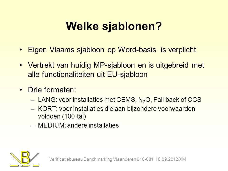 Welke sjablonen Eigen Vlaams sjabloon op Word-basis is verplicht