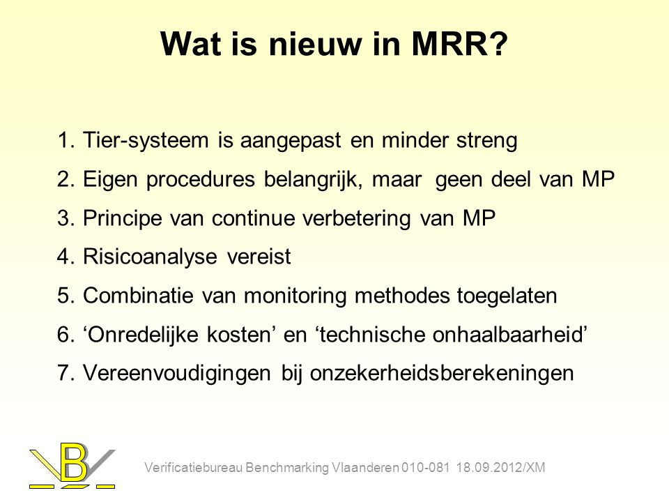 Wat is nieuw in MRR Tier-systeem is aangepast en minder streng
