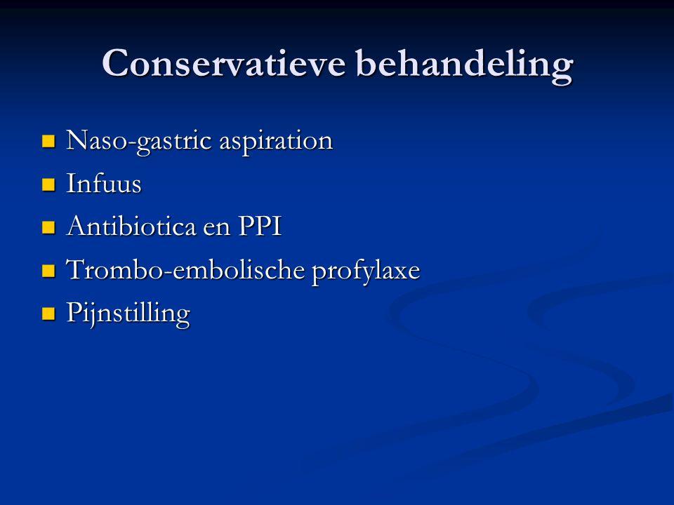 Conservatieve behandeling