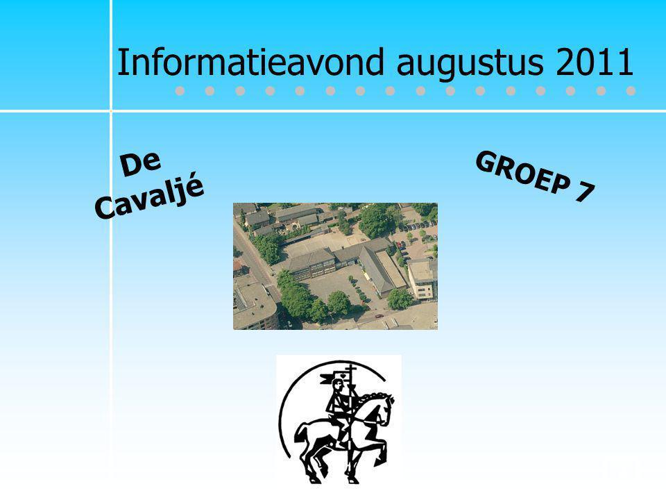 Informatieavond augustus 2011