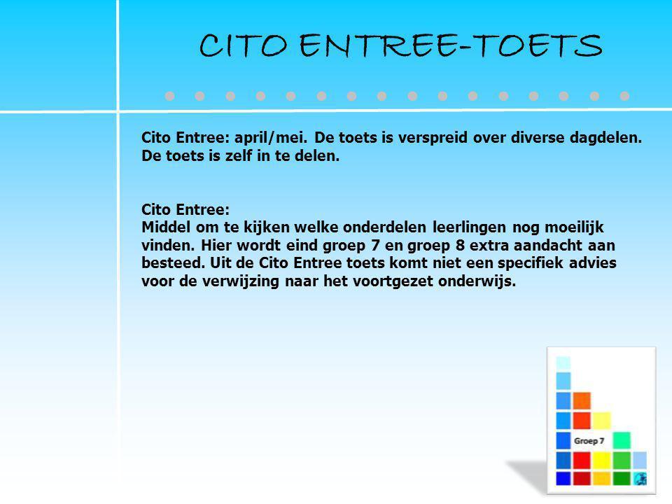 CITO ENTREE-TOETS ● ● ● ● ● ● ● ● ● ● ● ● ● ● ● ●