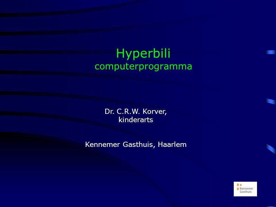 Hyperbili computerprogramma