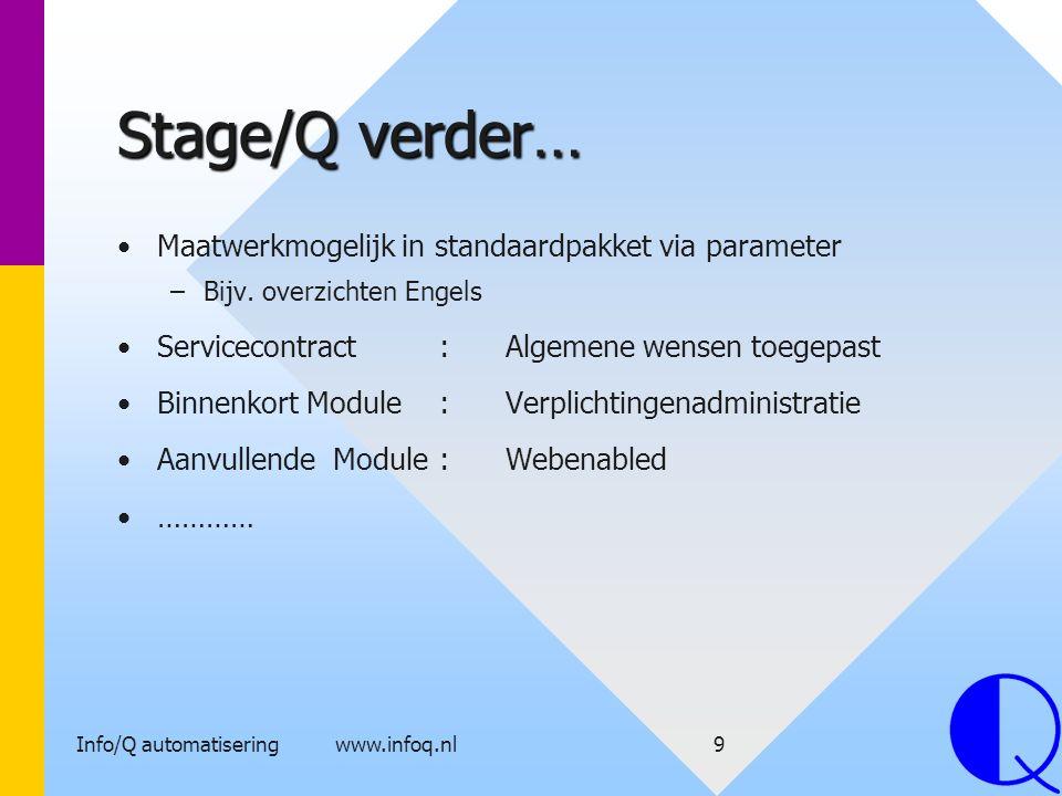 Info/Q automatisering www.infoq.nl