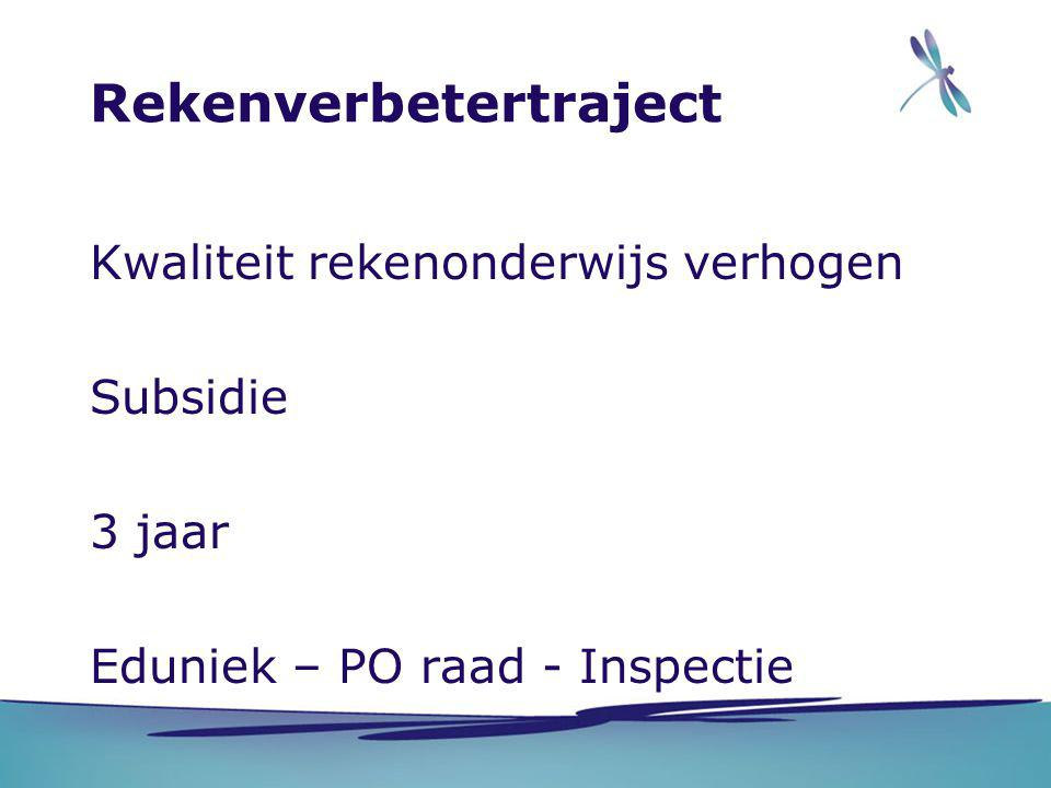 Rekenverbetertraject