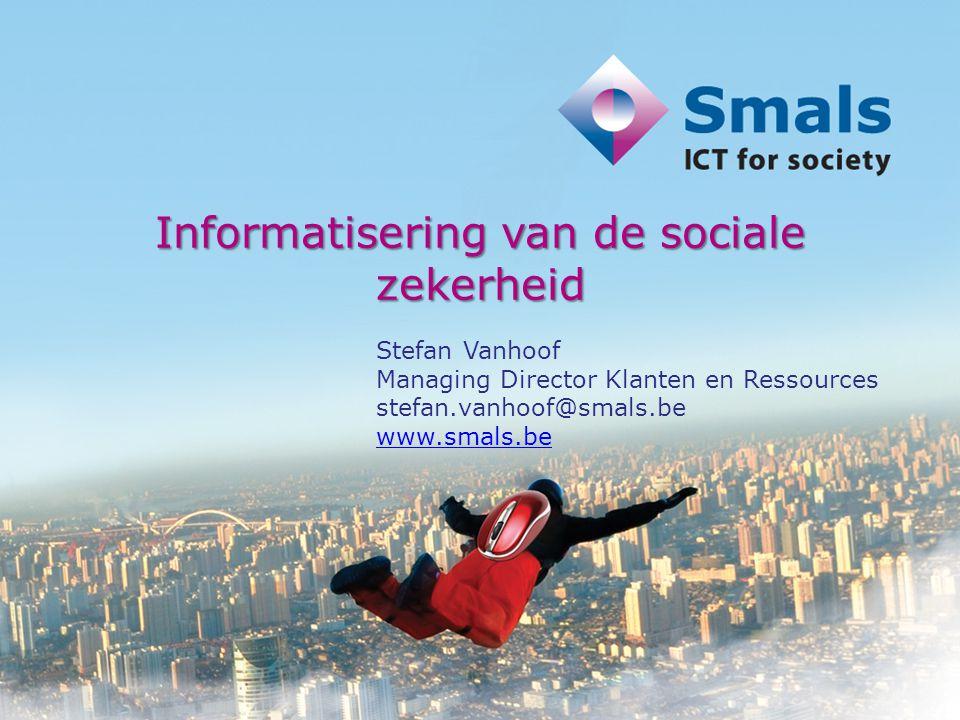 Informatisering van de sociale zekerheid