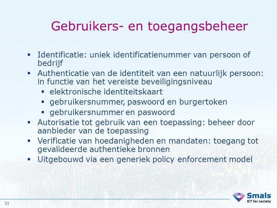 Gebruikers- en toegangsbeheer