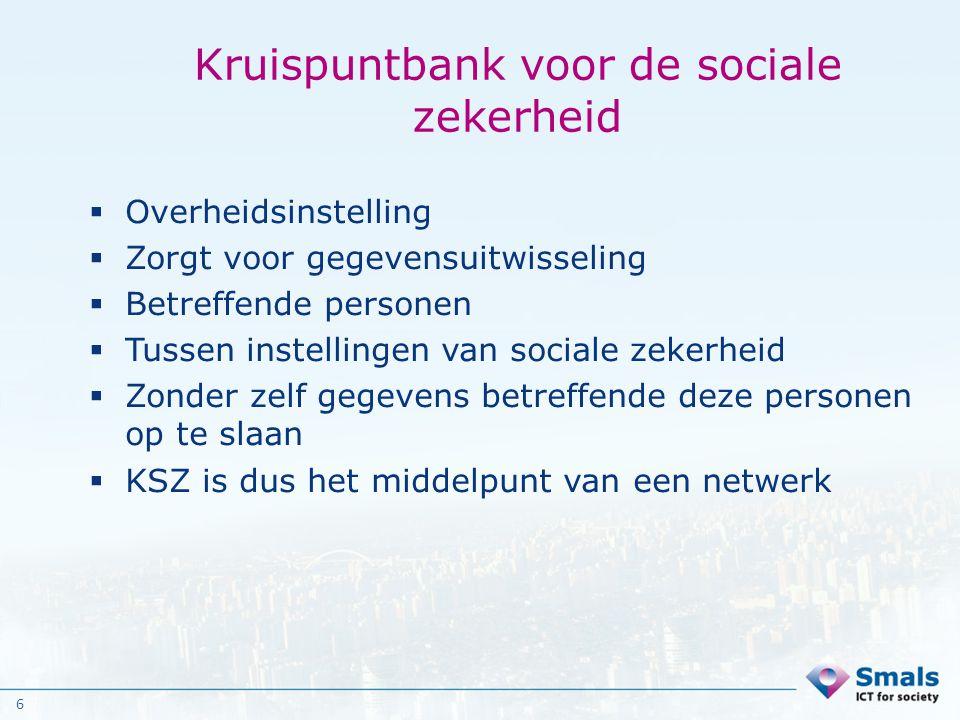 Kruispuntbank voor de sociale zekerheid