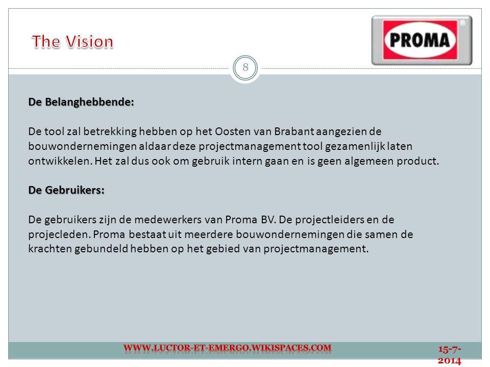The Vision De Belanghebbende: