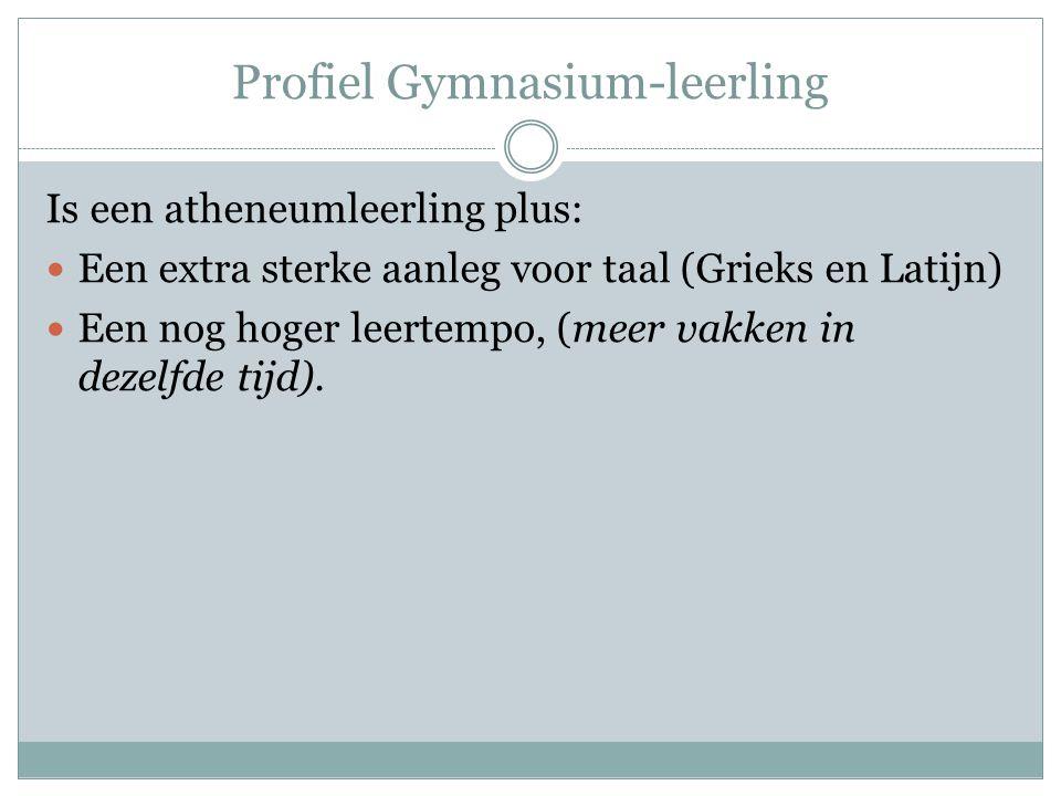 Profiel Gymnasium-leerling