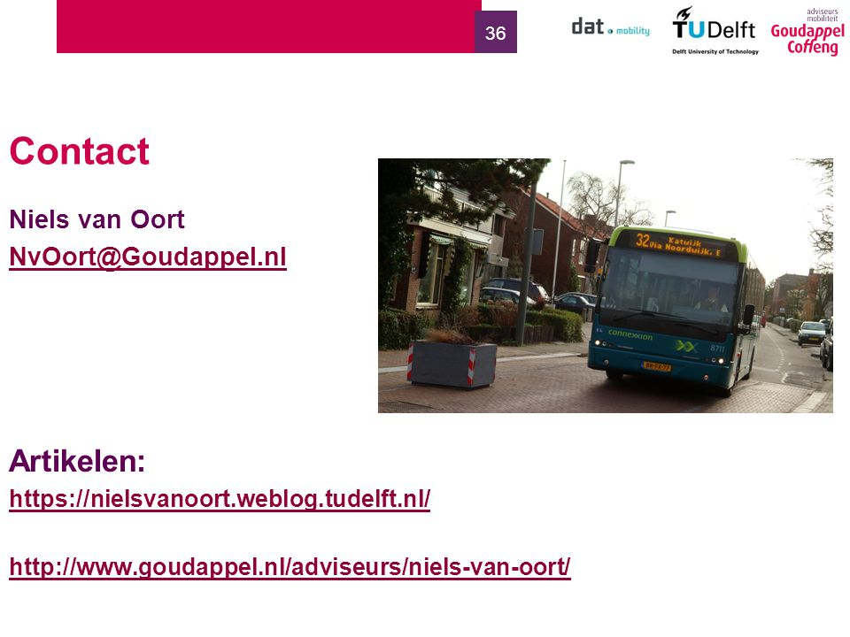 Contact Artikelen: Niels van Oort NvOort@Goudappel.nl