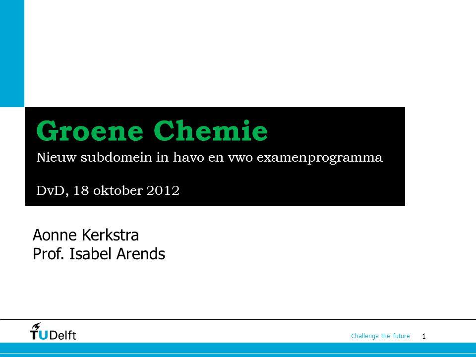 Nieuw subdomein in havo en vwo examenprogramma DvD, 18 oktober 2012