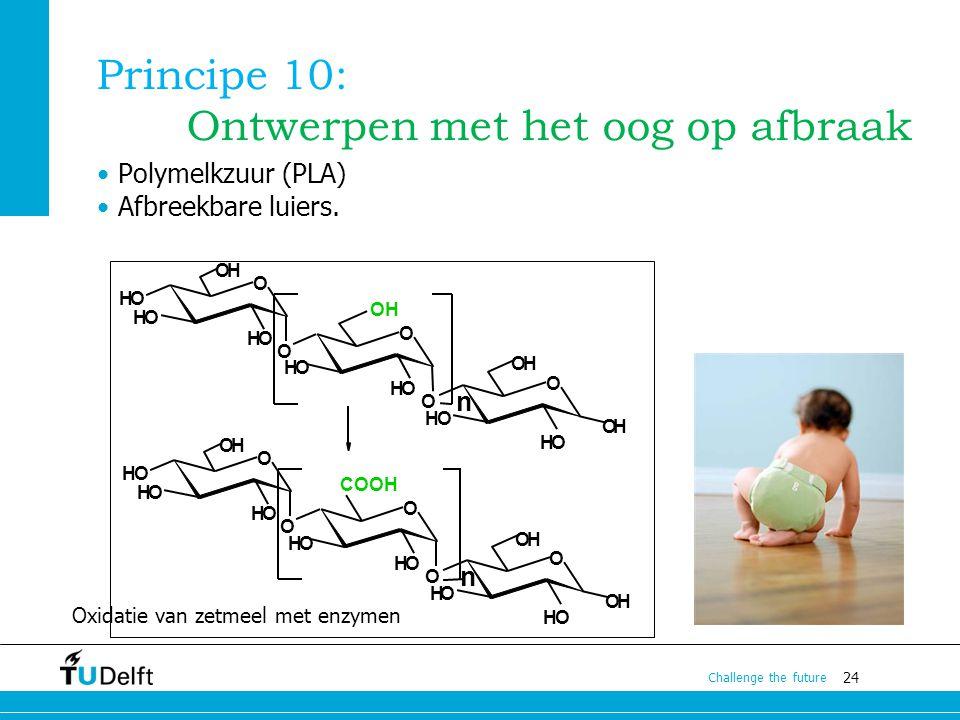 Principe 10: Ontwerpen met het oog op afbraak