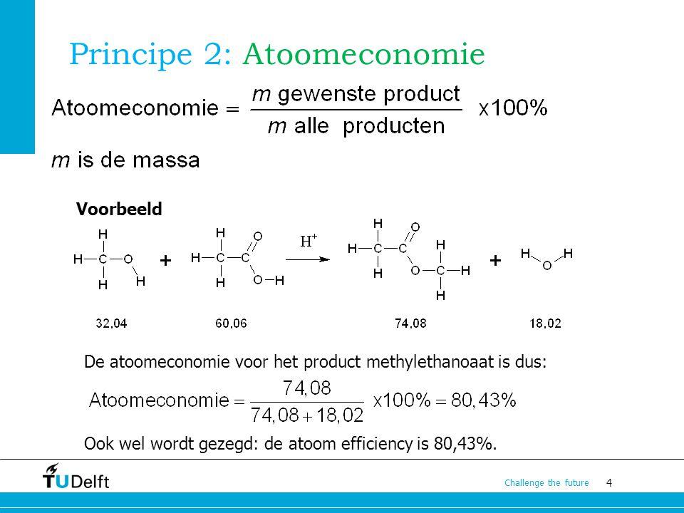 Principe 2: Atoomeconomie