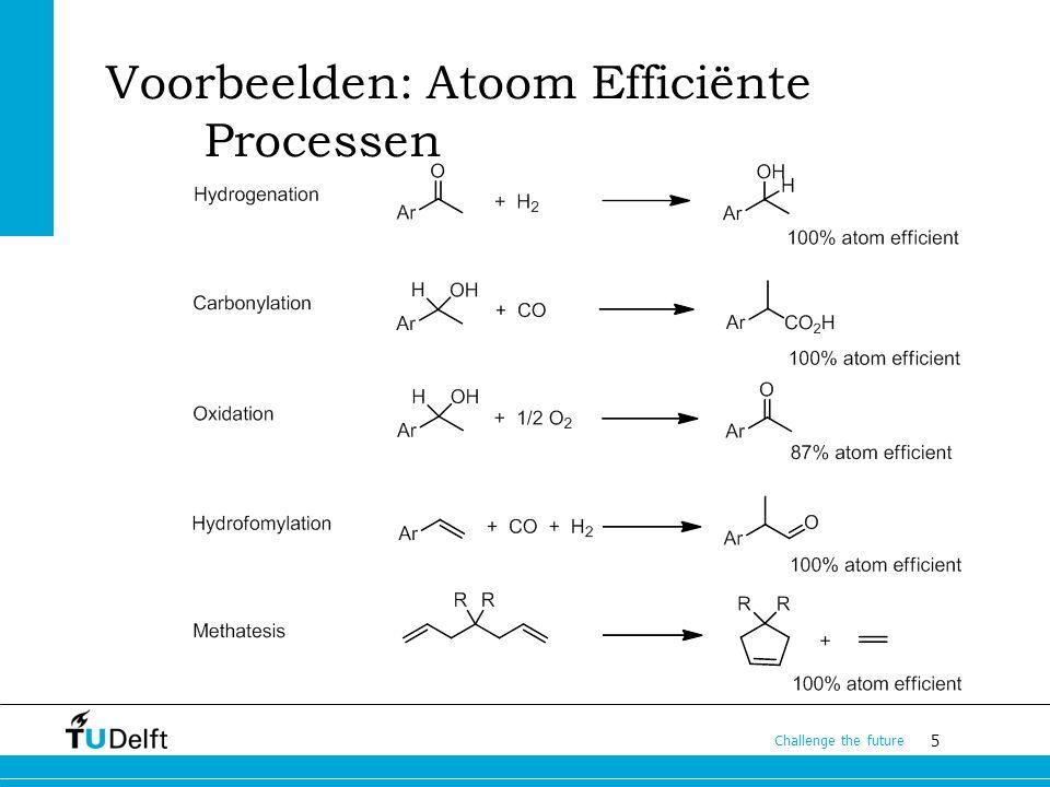 Voorbeelden: Atoom Efficiënte Processen