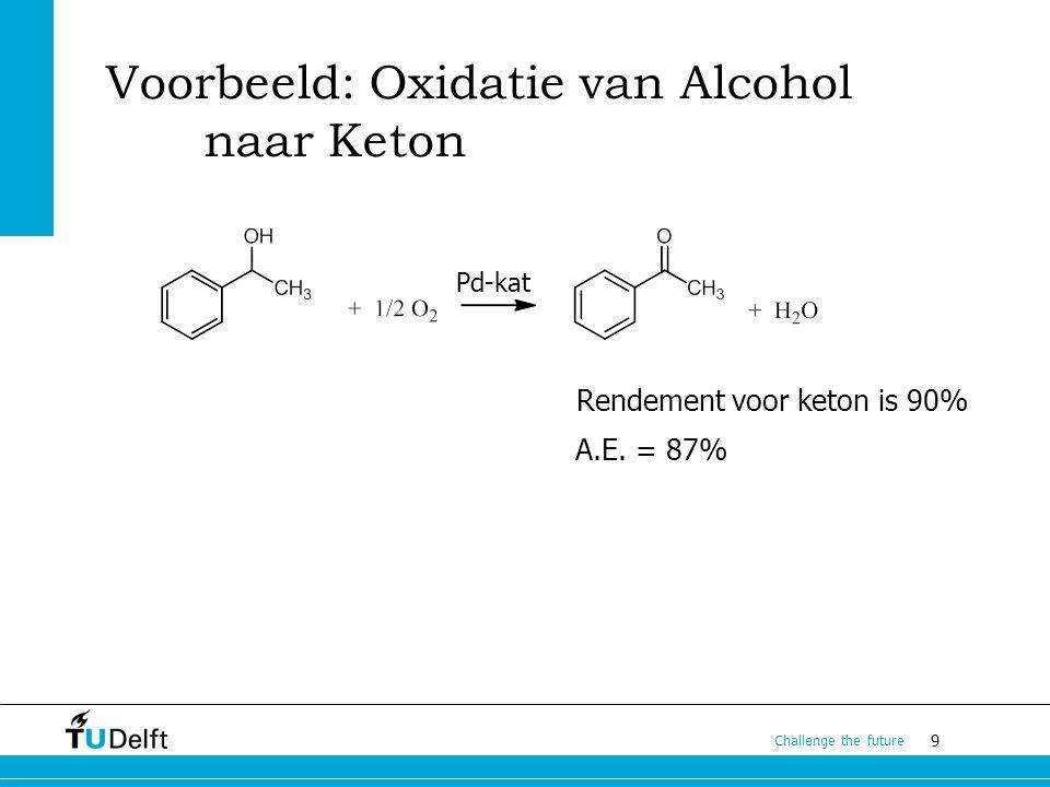 Voorbeeld: Oxidatie van Alcohol naar Keton