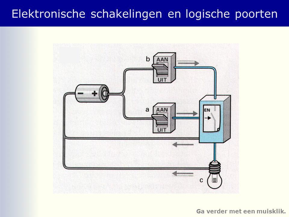 Elektronische schakelingen en logische poorten