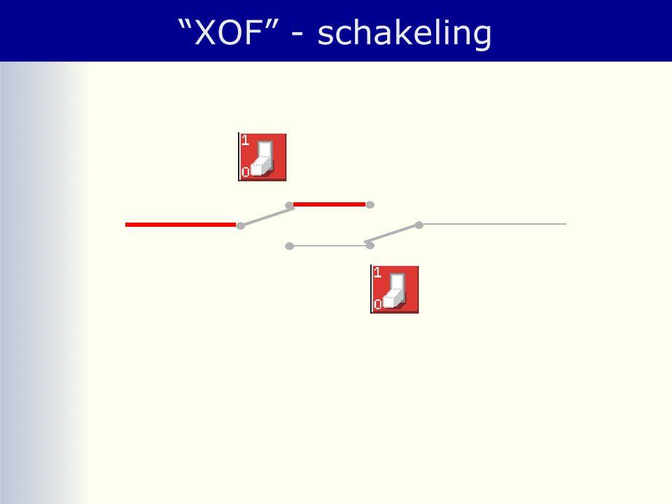 XOF - schakeling