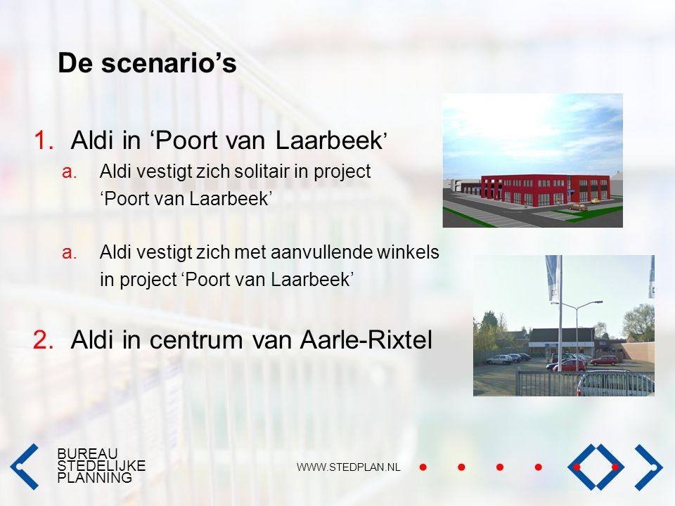De scenario's Aldi in 'Poort van Laarbeek'