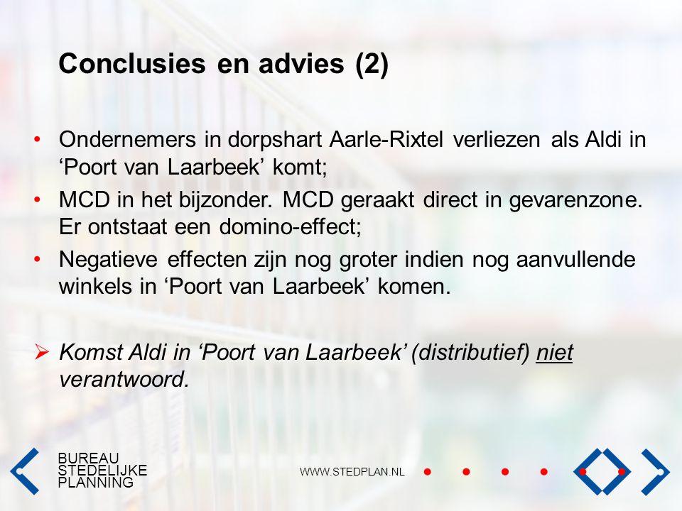 Conclusies en advies (2)