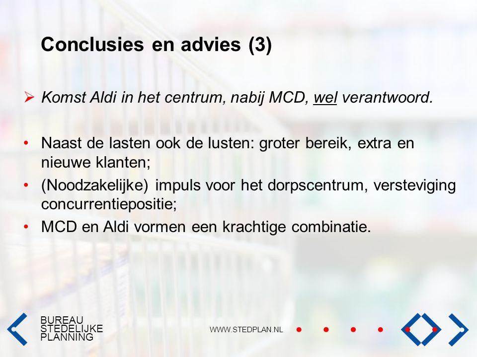 Conclusies en advies (3)