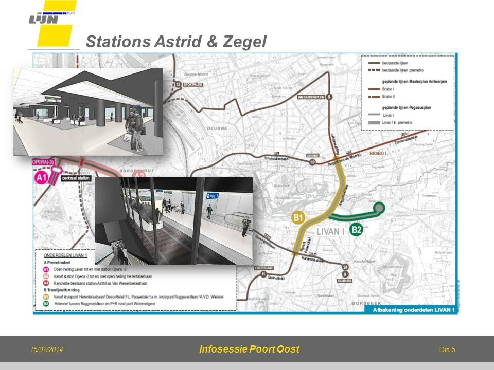 Stations Astrid & Zegel