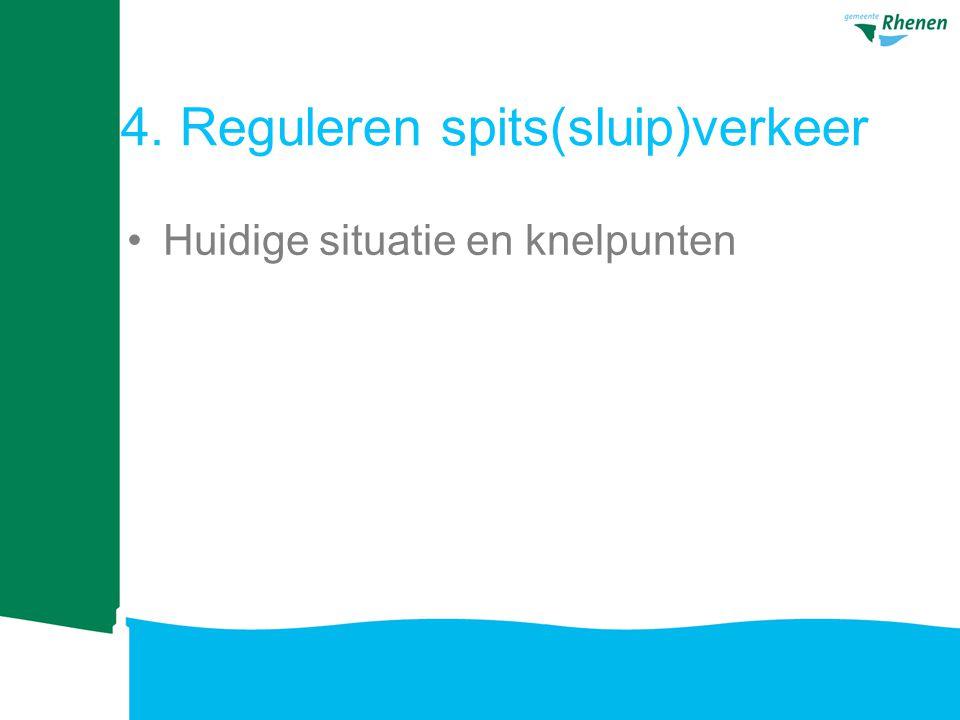 4. Reguleren spits(sluip)verkeer