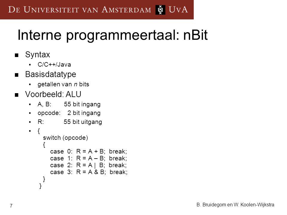 Interne programmeertaal: nBit