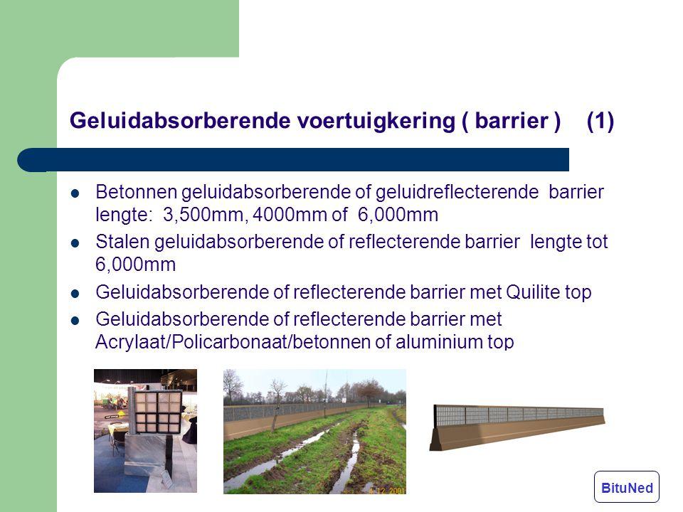 Geluidabsorberende voertuigkering ( barrier ) (1)