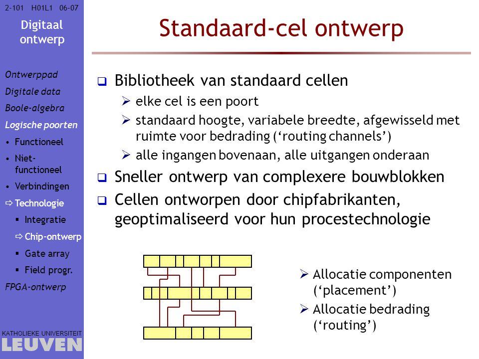 Standaard-cel ontwerp