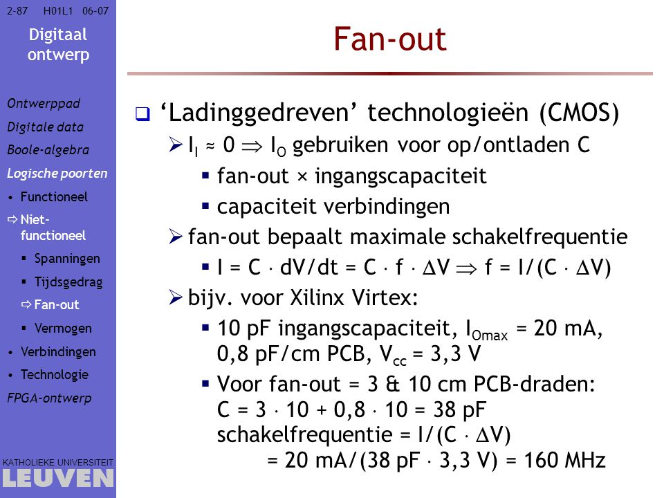 Fan-out 'Ladinggedreven' technologieën (CMOS)