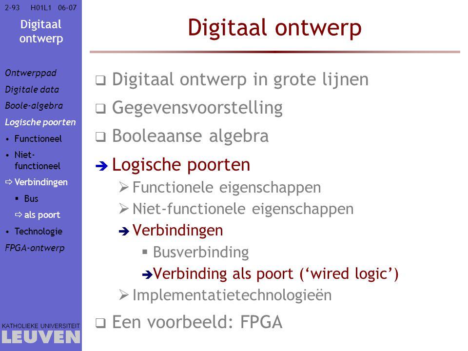 Digitaal ontwerp Digitaal ontwerp in grote lijnen Gegevensvoorstelling