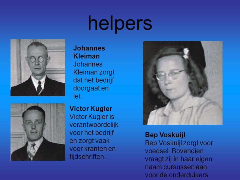 helpers Johannes Kleiman