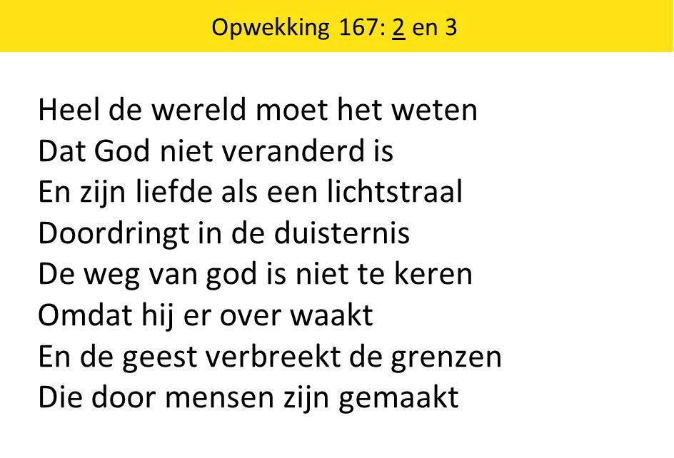 Opwekking 167: 2 en 3