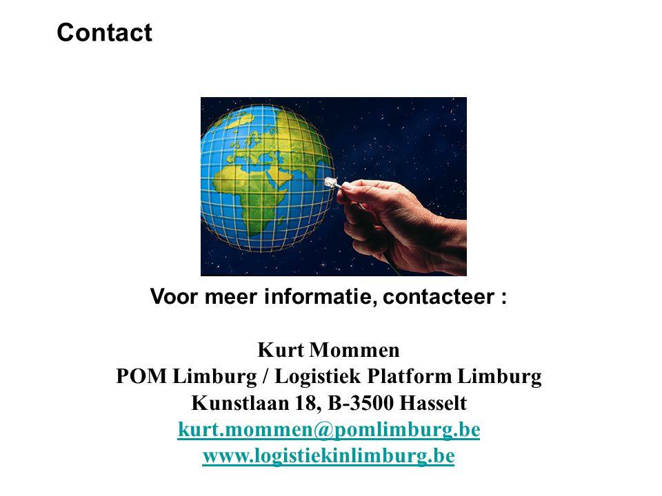 Contact Voor meer informatie, contacteer :