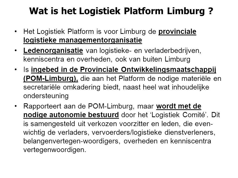 Wat is het Logistiek Platform Limburg