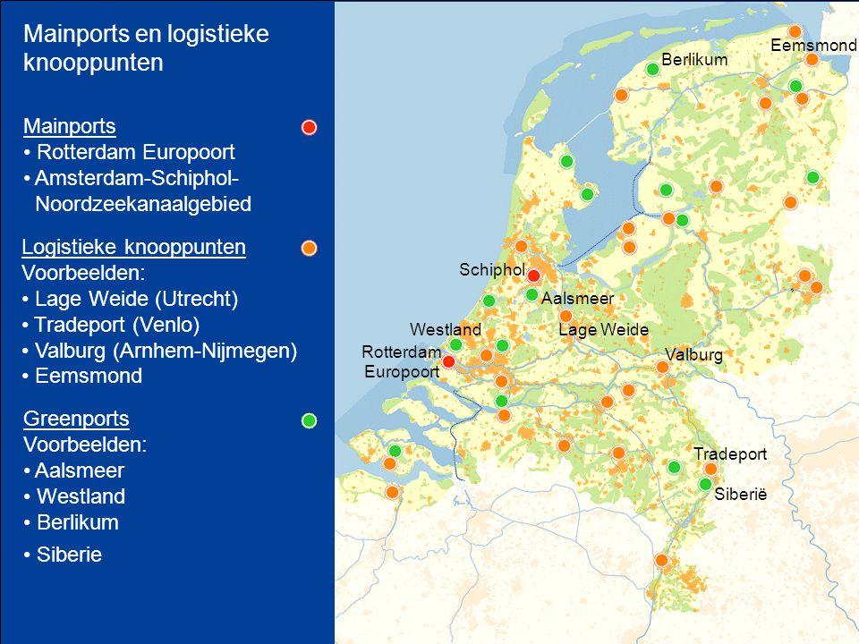 Mainports en logistieke knooppunten