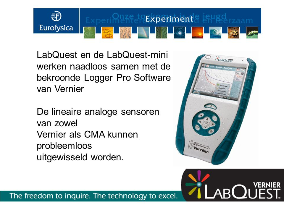 LabQuest en de LabQuest-mini