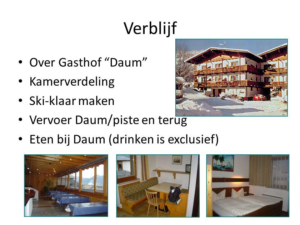 Verblijf Over Gasthof Daum Kamerverdeling Ski-klaar maken