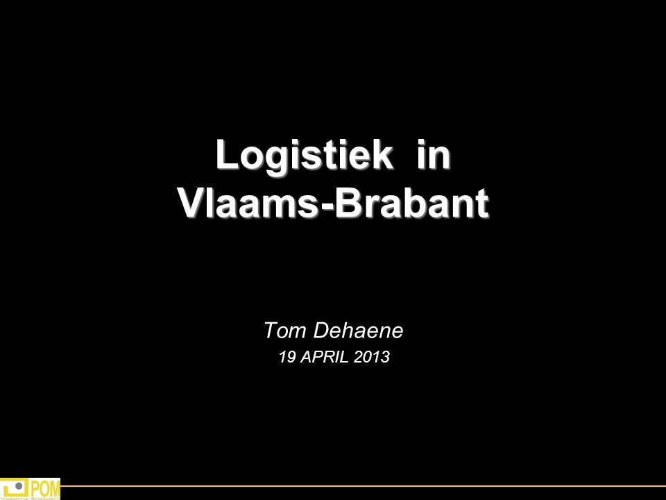 Logistiek in Vlaams-Brabant