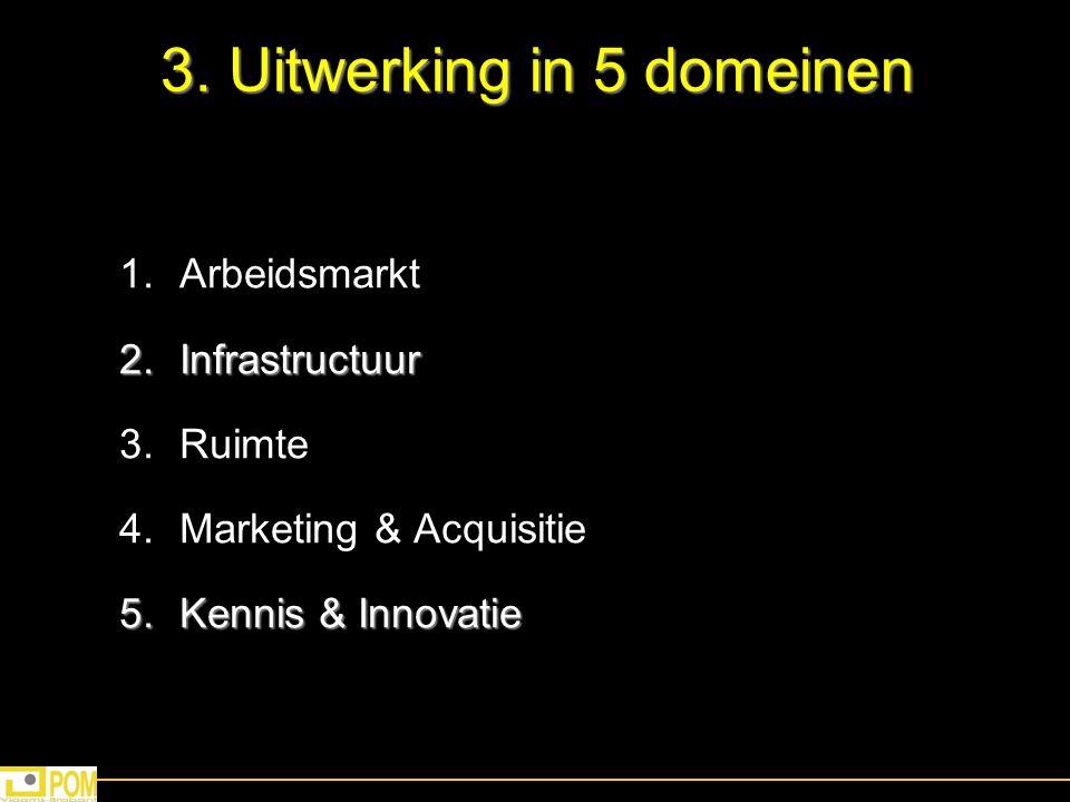 3. Uitwerking in 5 domeinen