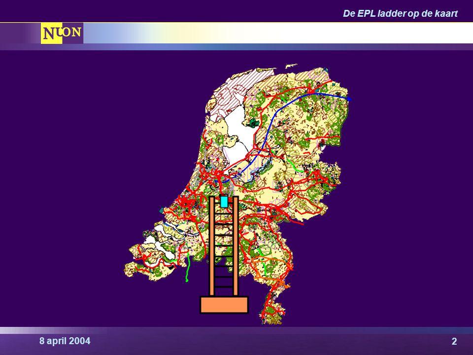 De EPL ladder op de kaart