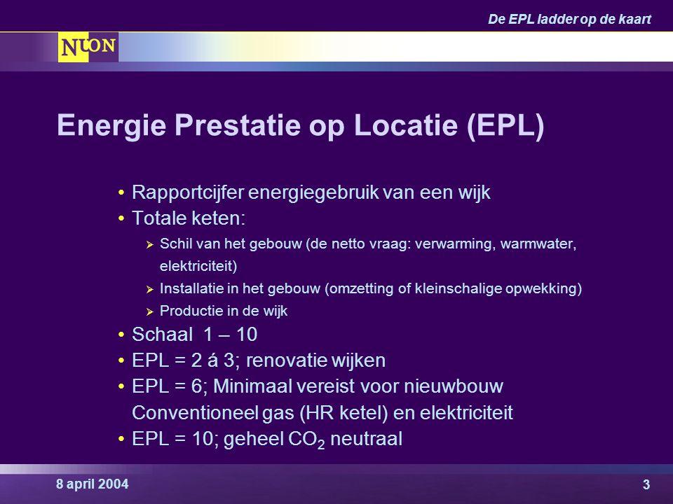 Energie Prestatie op Locatie (EPL)
