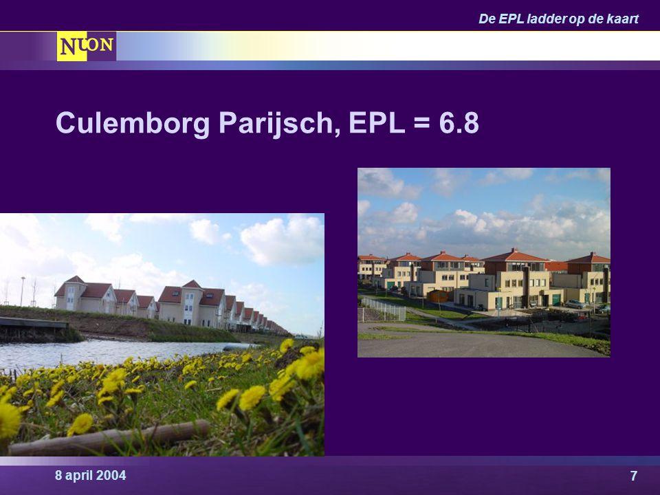 Culemborg Parijsch, EPL = 6.8