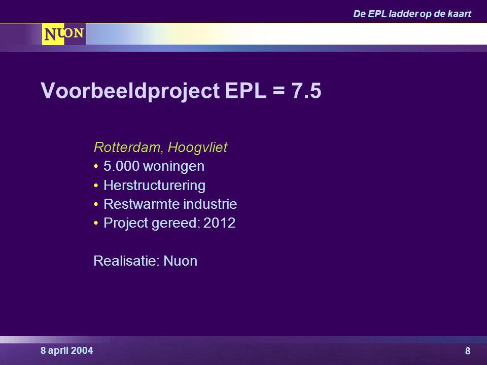 Voorbeeldproject EPL = 7.5
